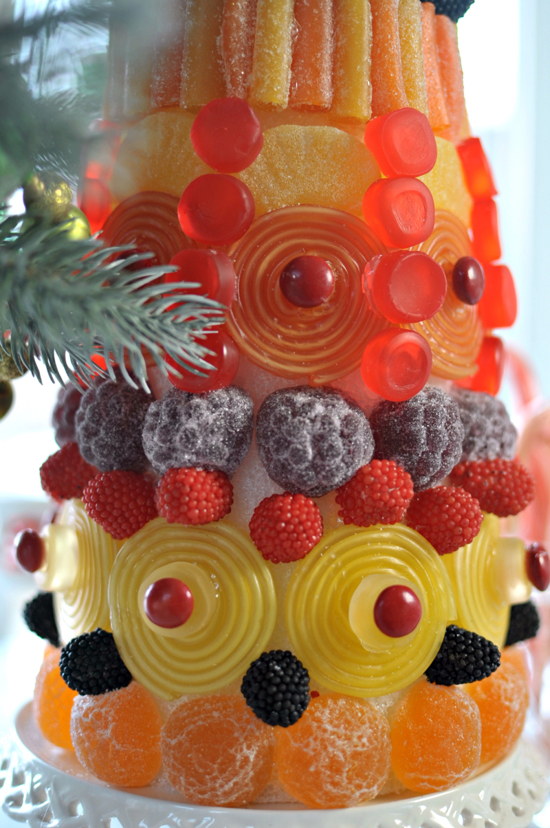Candy Topiary Closeup