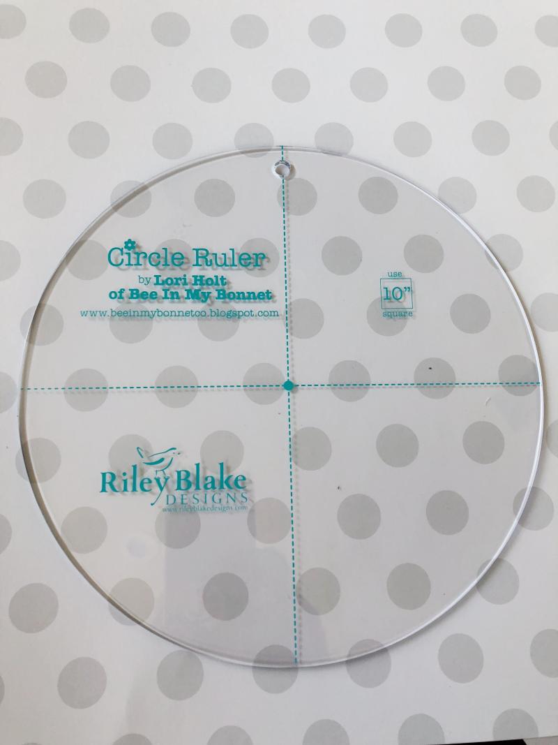 Circle ruler