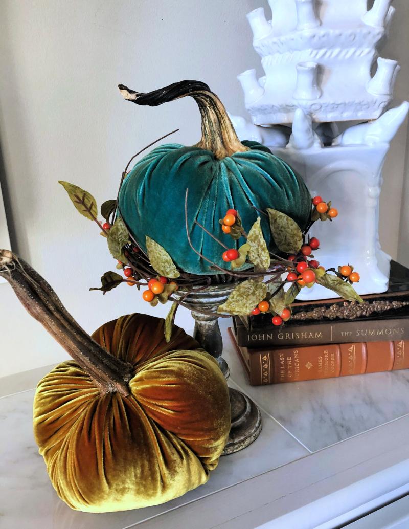 Velvet pumpkins (1)