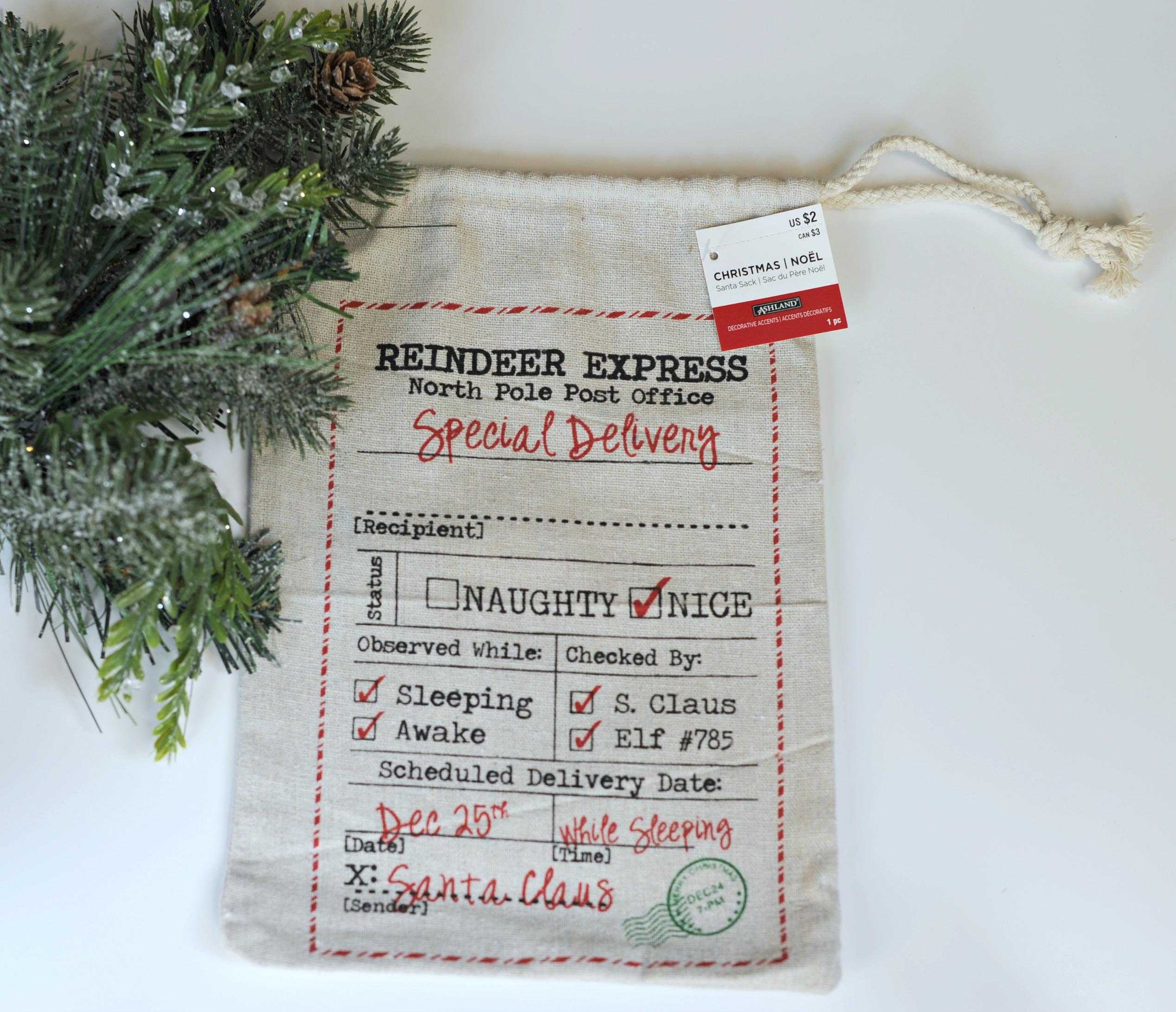 Tutorial Tuesday 9 No Sew Santa Bag Pillows Part 1 My